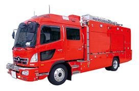 Rescue and Special Purpose Vehicles - TEIKOKU SEN-I CO , LTD