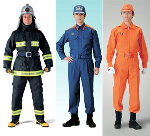 消防用被服(防火衣、活動服、救助服・耐熱服)