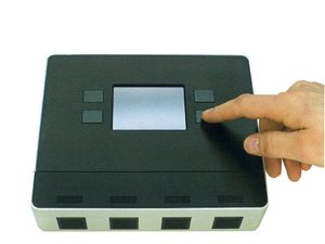可搬型リアルタイムPCR方式生物剤分析器