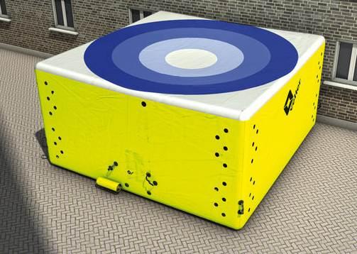 空気式救助マット ジャンプバッグ