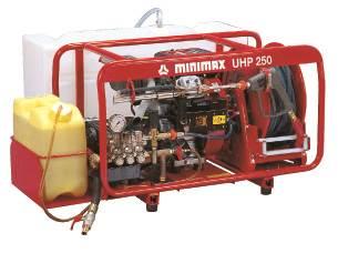 超高圧噴霧消火装置