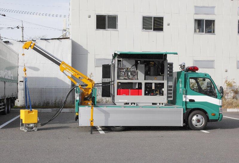 排水ポンプ車(ハイドロサブHS60)