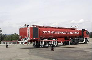大型消火剤搬送車(噴霧装置付)