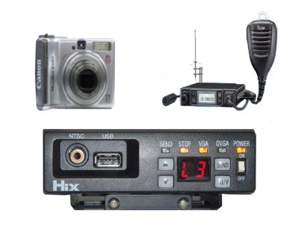 デジタル簡易無線テイセン画像伝送システム「テイセンITS」